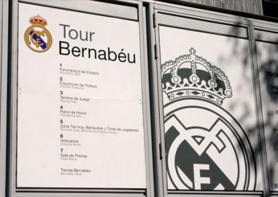 Tour del Bernabéu en inglés