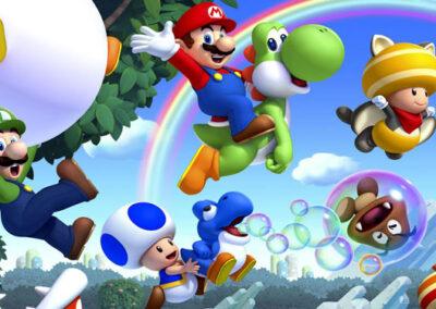 Crea y vive un videojuego tan divertido como Mario Bros
