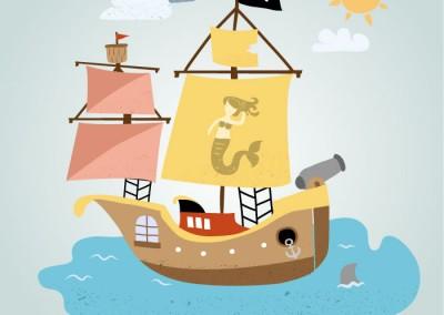 El pueblo pirata