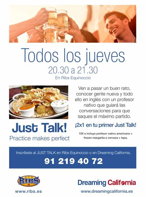 ¡Vuelven los Just Talk!