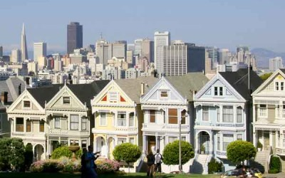 The famous streets of San Francisco
