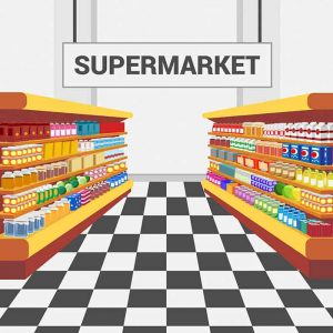 supermarketW English vocabulary