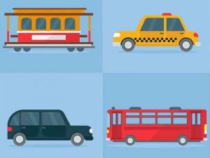 transport vocabulario de vacaciones