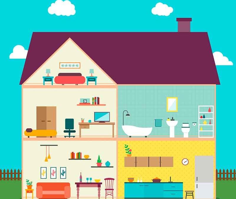 English vocabulary list – household items