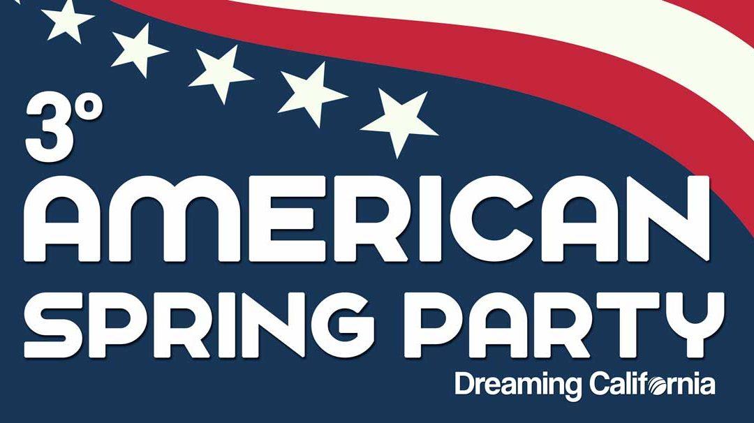 Llega la American Spring Party!