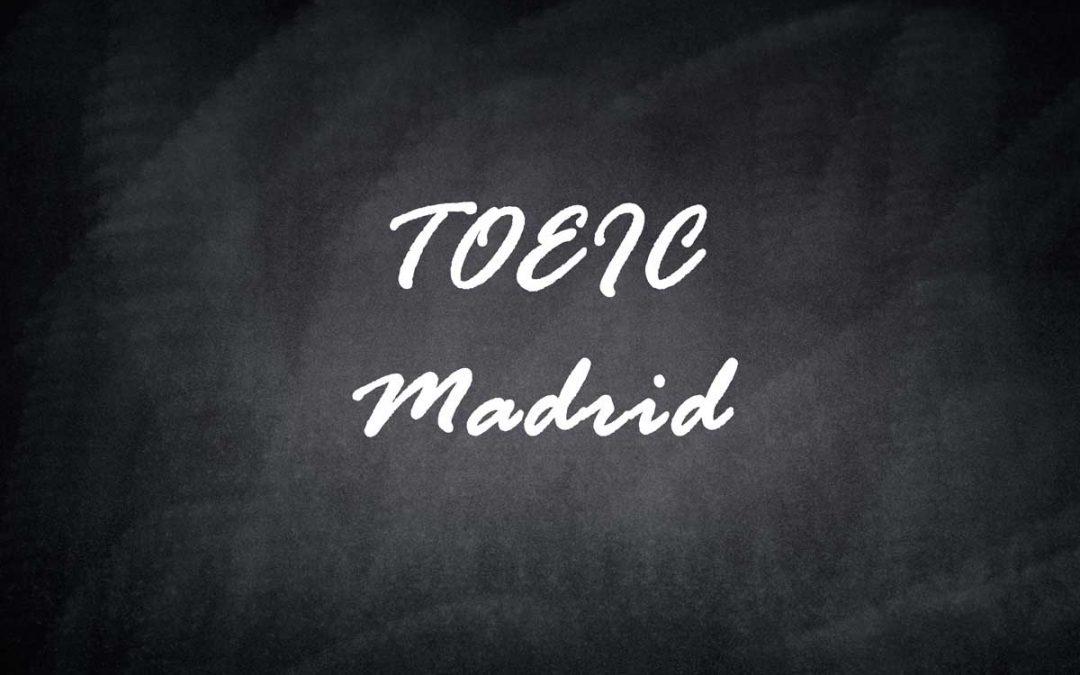 TOEIC Madrid