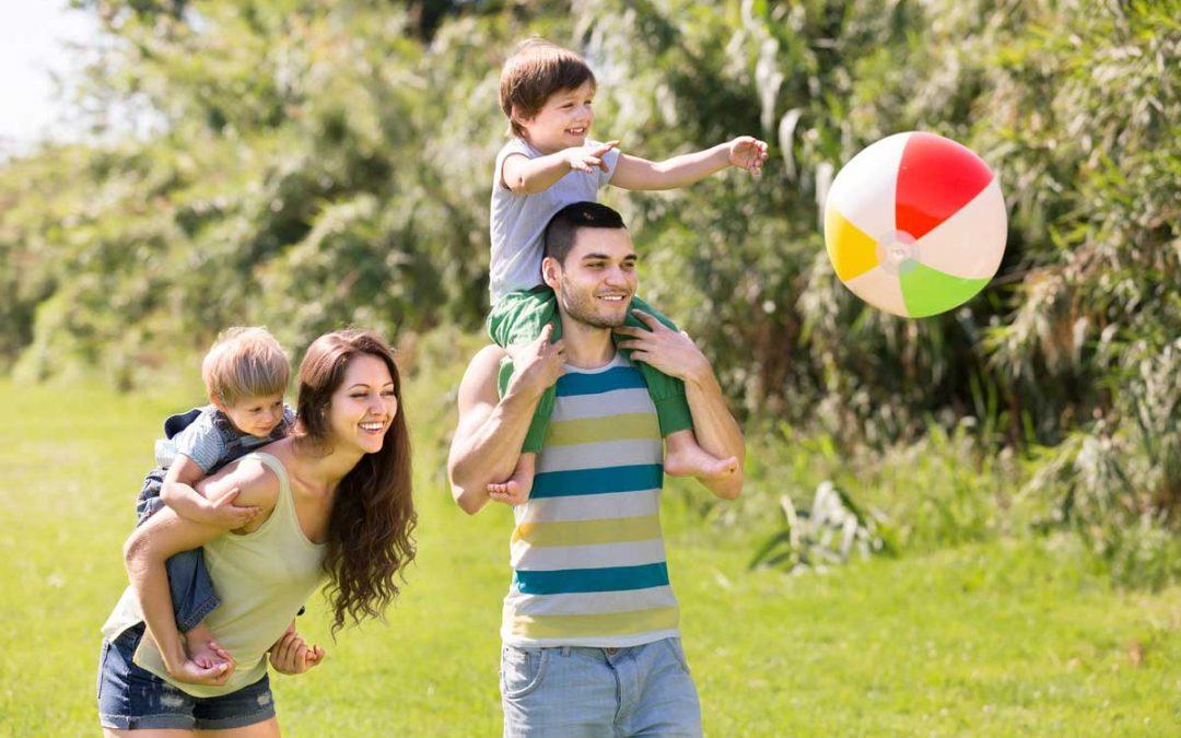 ¿Cómo son las familias americanas?